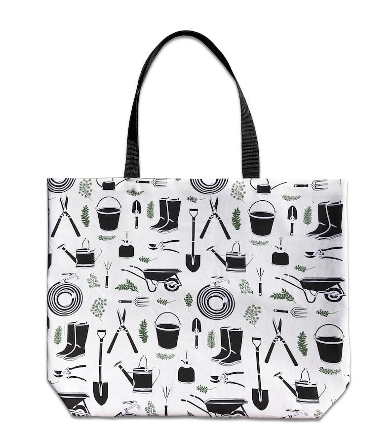 Garden Tool Bag Gardening Bag Bag for Garden Tools Gardening Tote Bag Reversible Canvas Tote Bag for Gardening Garden Tote Bag