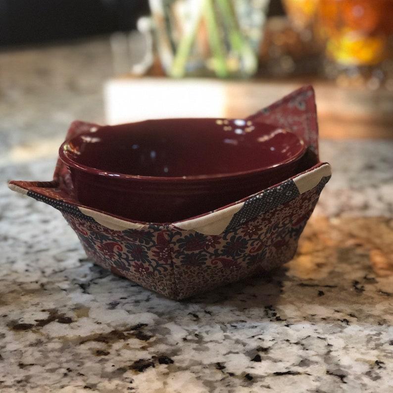 made from Quilt Block Premium Bowl Cozy