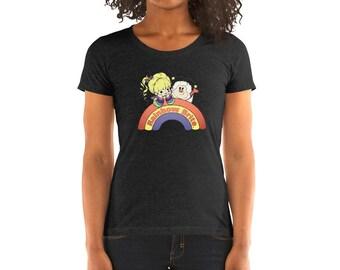 a661ead4bcd Rainbow Brite - Ladies  short sleeve t-shirt