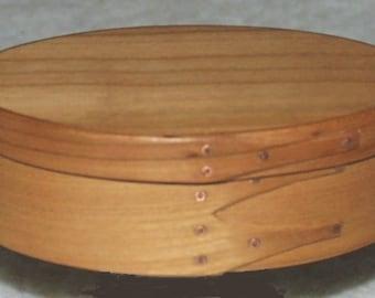 Shaker Oval Box No.1 European Cherry Tree