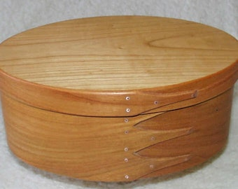 Shaker Oval Box No.5 European Cherry Tree