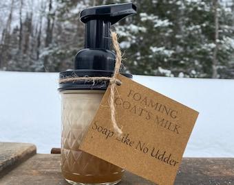 Foaming Goat's Milk Soap Like No Udder