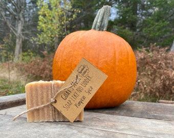Handmade Pumpkin Spice Goat's Milk Soap Like No Udder