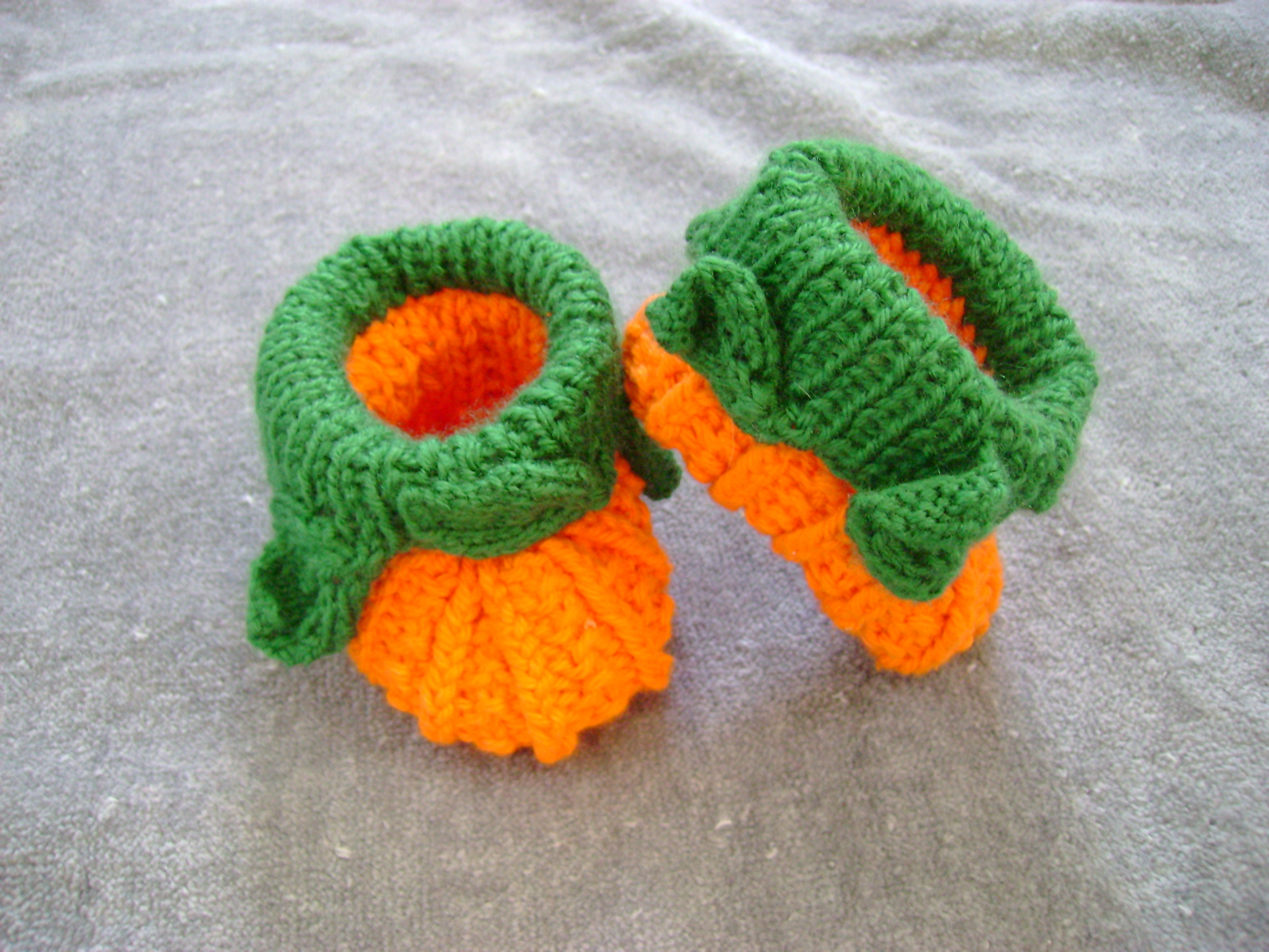 Pumpkin Baby Booties 0 3 Month Old Pumpkin Shoes Orange Crib Shoes Baby  Boots Baby Shower Gift