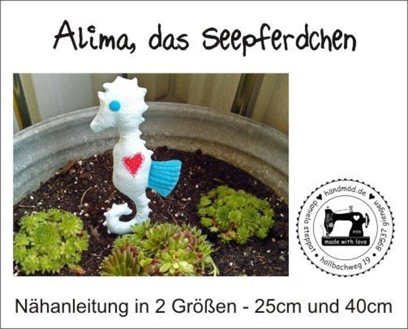 E-book Alima the Seahorse in 2 sizes image 0