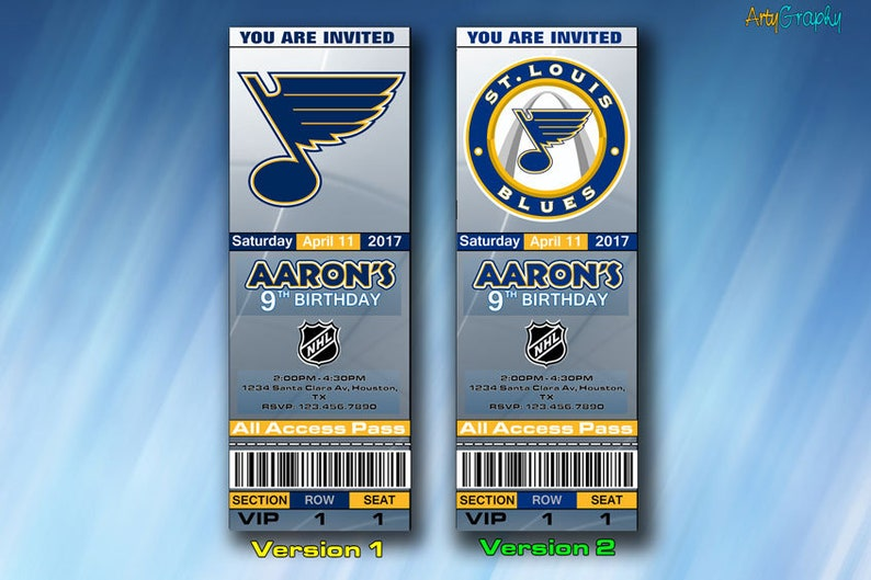 graphic relating to St Louis Blues Printable Schedule identify St Louis Blues Invitation, St Louis Blues Birthday Invite, Ticket, Tickets, Electronic Product or service, Printable, Invites, Bash Invitations