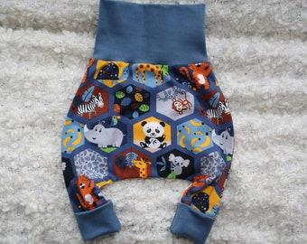 Harem Pants Gr.56 Pump Pants Baby Baby Pants Mitwax Pants Newborn Pants Slip Pants Animals Koala RhinoCeros Gift Baby