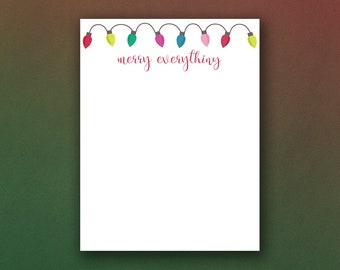 picture about Printable Christmas Stationery referred to as Xmas stationery Etsy