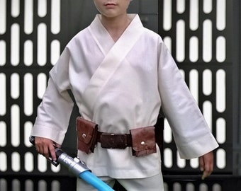 Kids Star Wars Luke Skywalker Costume, 2 Piece Set, Tunic And Belt, Party  Outfit, Easter Gifts For Kids, Free Shipping, Ready To Ship.