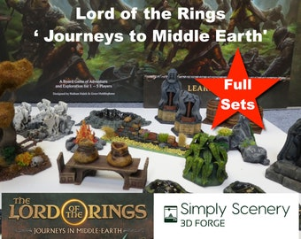 The Lord of the Rings Journeys in Middle-earth Hero Dashboard Magnetic