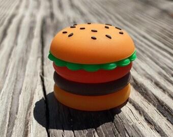 "1"" Silicone Hamburger Storage Container"