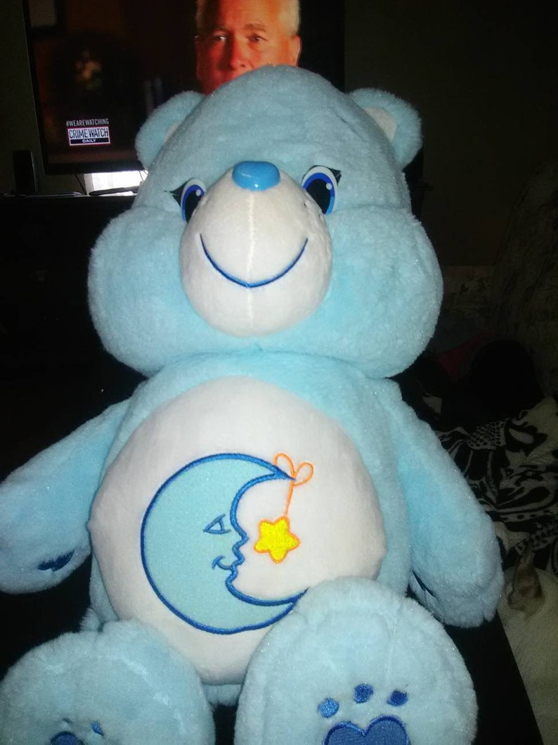 Just play bedtime 2015 jumbo Care Bear 20 inches used