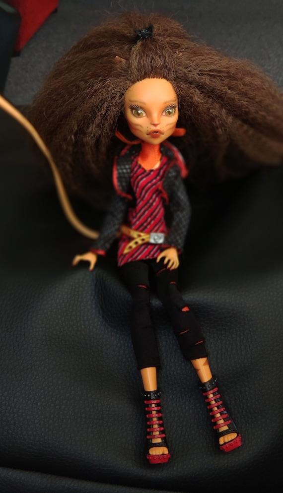 Ooak Toralei Stripe Monster High Doll Etsy
