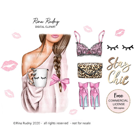 Morning Coffee Clipart Coffee Clipart Tea Clipart Fashion Etsy