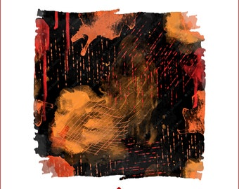 Orange Black Sublimation Background, Halloween Distressed Sublimation PNG Design, Grunge Background Sublimation Download,Abstract Backsplash