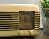 Federal 1040TB Tabletop Tube Radio c. 1940 39 s