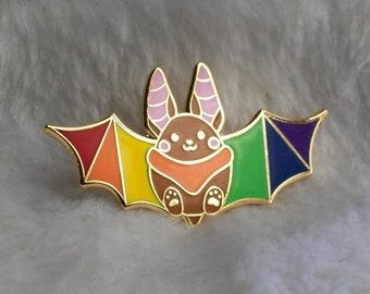 Fruit Bat Enamel Pin