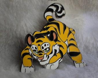Lily Tiger Enamel Pin