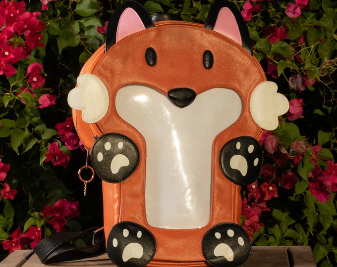 Featured listing image: Ita-Mals Ita Bag Backpack Ron Red Fox