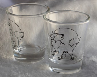 Werewolf Shotglass