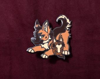 Fursona Pin Dog Kickstarter German Shepherd Limited Edition
