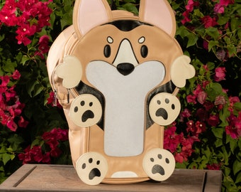 Ita-mals Itabag Backpack Corgi