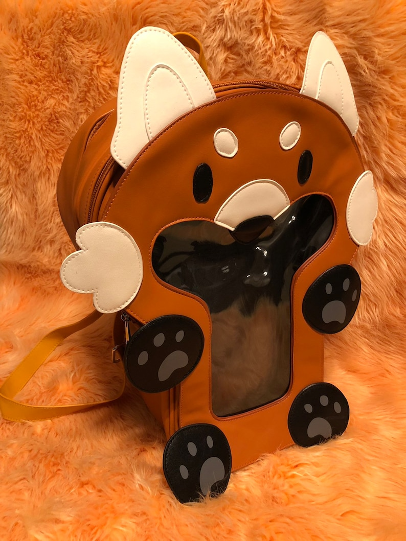 Ita-mals Ita Bag Backpack Red Panda
