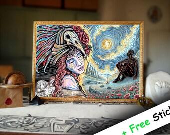 "Prints of ""Dream of a goddess"""