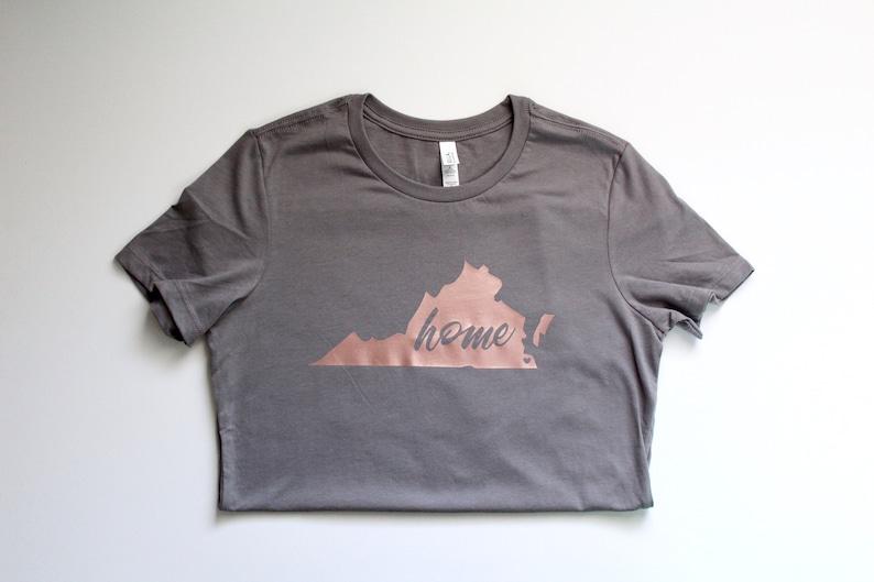 8782427f8 Home Virginia Tee Virginia shirt State shirt graphic tee | Etsy