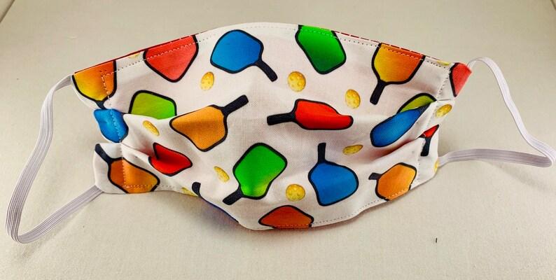Pickleball Masks 1 day ship-Quality Cloth masks. Hand sewn