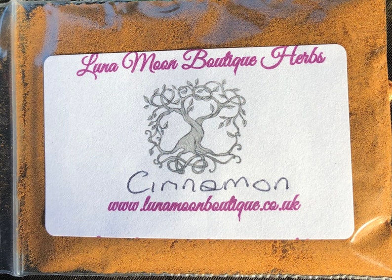 Cinnamon Dried Herb For Incense Spells Witchcraft Pagan image 0