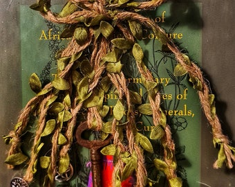 Witch Bells Protection Amulet, Entry Way Protection, Witchcraft, Pagan, Wiccan, Witch, Door Bell, Witches Hat, Tree Of Life, Gift Wrapped