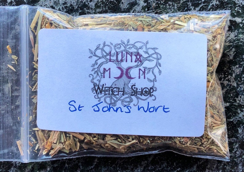 St John's Wort Dried Herb Healing Protection From Evil image 0