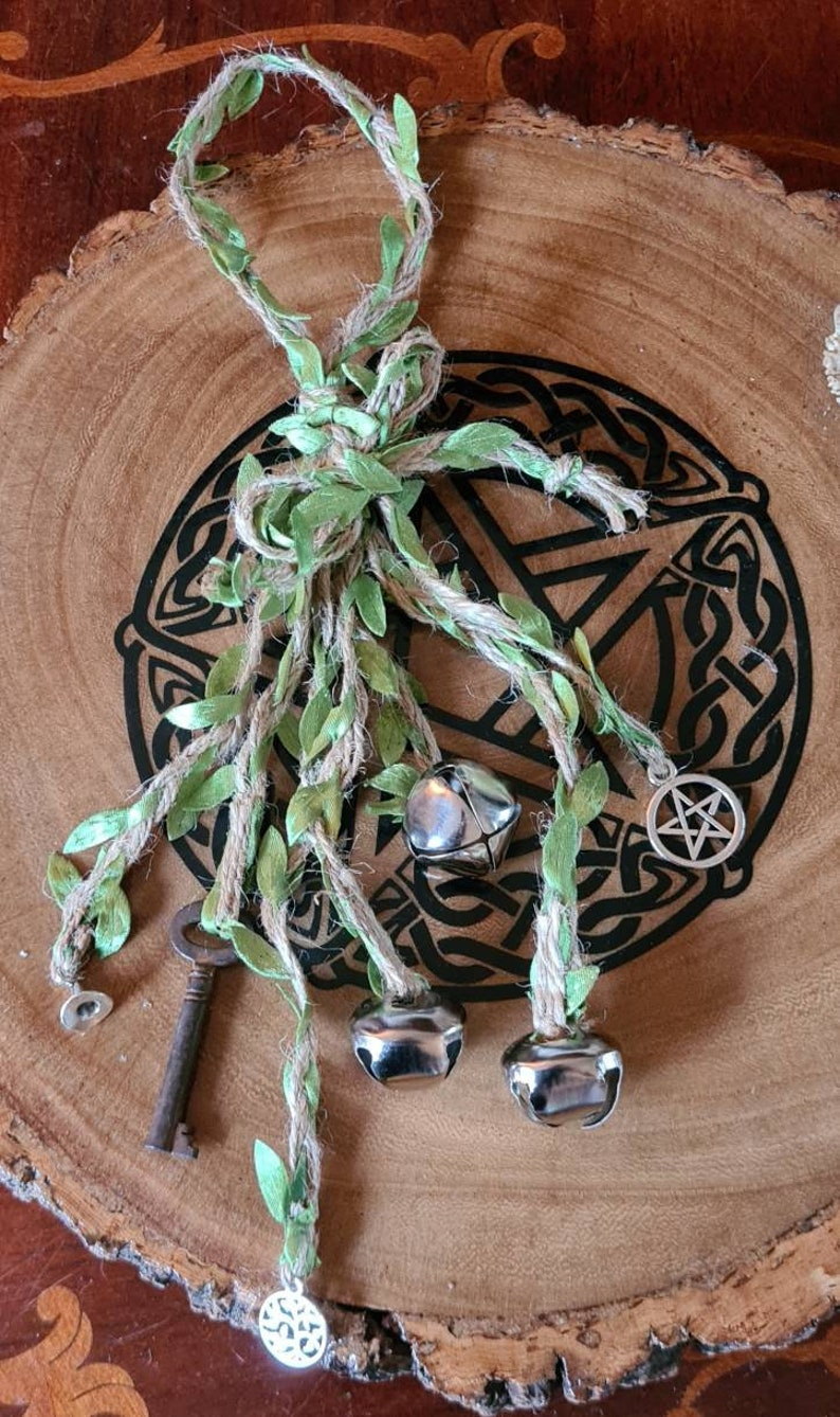 Witch Bells Protection Amulet Entry Way Protection image 0