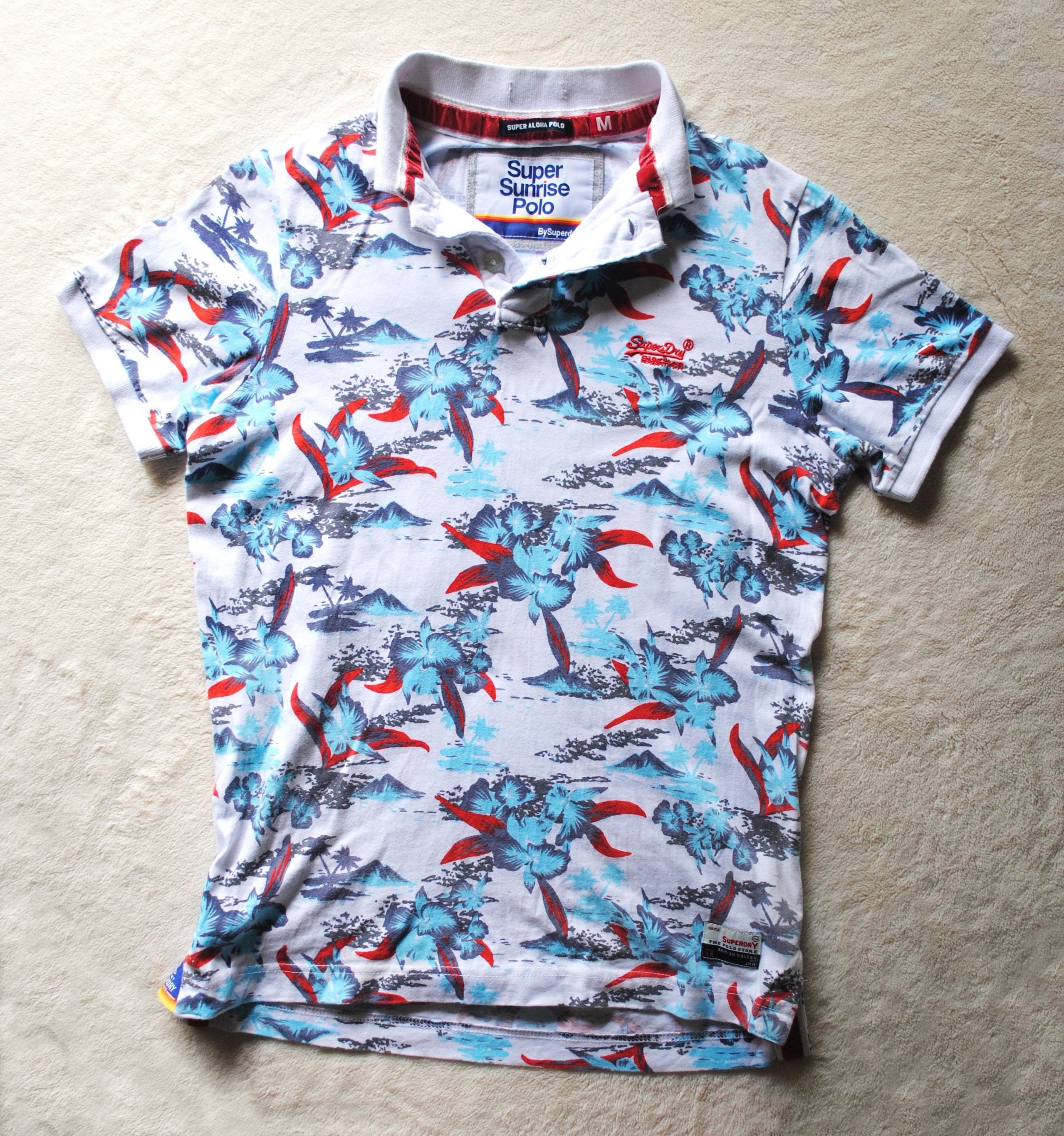 a92f72154 Polo Shirts Hawaiian Print | Top Mode Depot