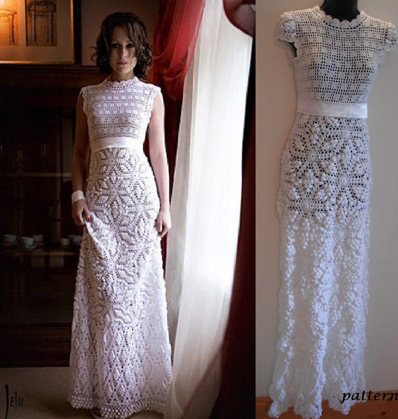 Crochet Wedding Dress Pattern.Crochet Wedding Dress Pattern Pdf By Marifu6a