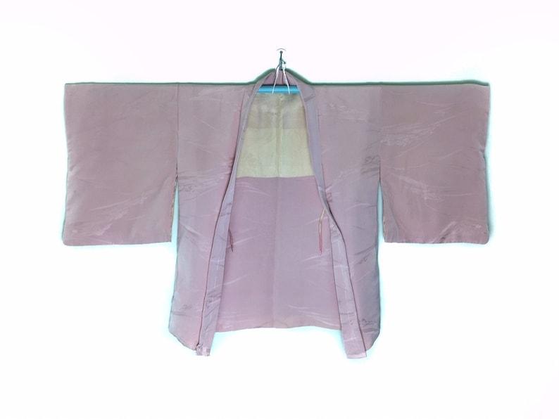 Authentic Japanese Kimono Haori in Pink Colour