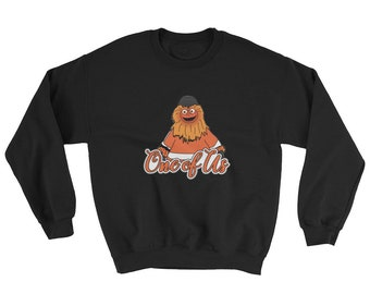 Gritty Mascot Philadelphia Flyers Graphic Crewneck Sweatshirt de6dc36da