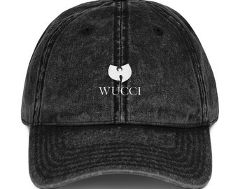 bc6da17e9d2 Gucci Wu Tang Clan Acid Wash Dad Hat