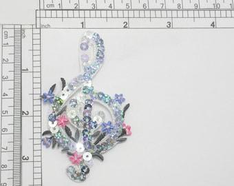 Ah51 Saxo Saxophone Instrument de musique écusson Bügelbild patch 4,6 x 10,0 cm