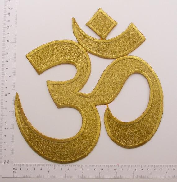 Eyes of Buddha buddhism yoga peace trance applique iron-on patch new G-13