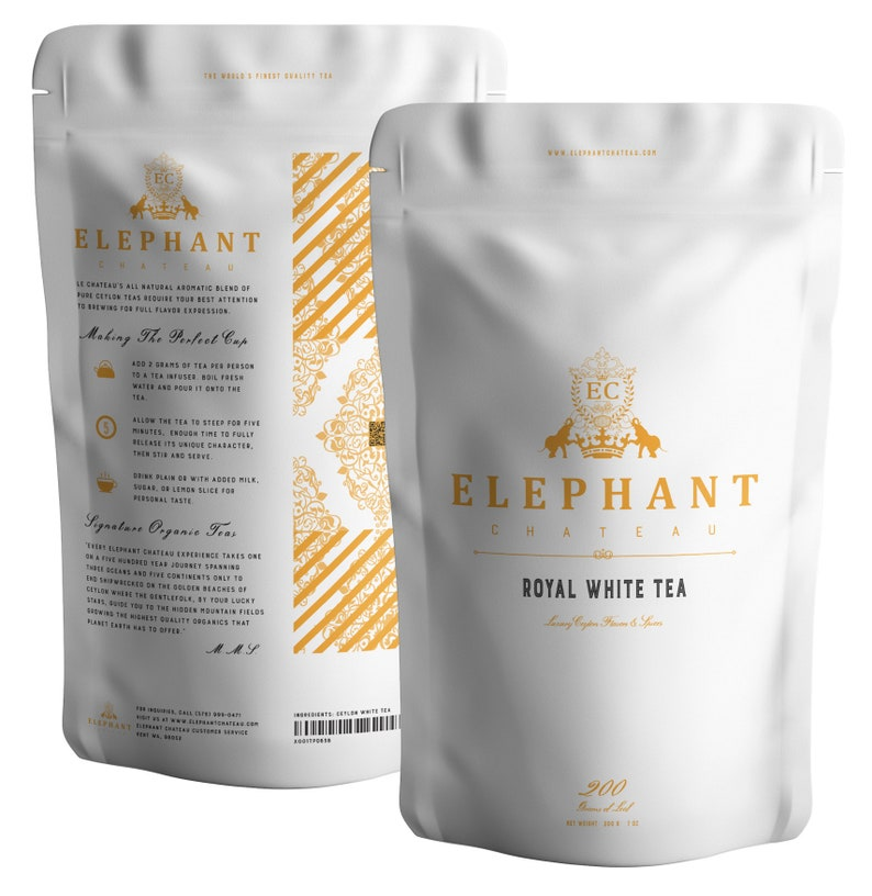 Silver Tip White Tea Extra Special  60 Cups Delicious Tea  image 0