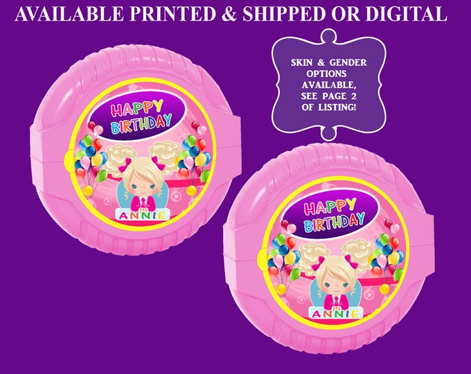 Boss Baby Bubble Gum Tape Label - Bubblegum - Sticker - Boss Baby - Bubble Gum Label - Digital - Printable - Printed
