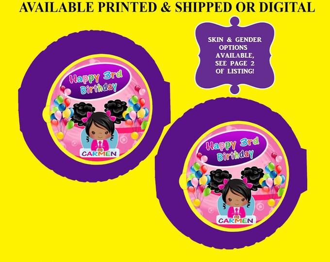 Boss Baby Bubble Gum Tape Label - Bubblegum - Sticker - Boss Baby - Bubble Gum Label - Digital - Printable - Printed