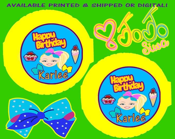 JoJo Bubble Gum Tape - JoJo - Bubble Gum Tape - Bubblegum - JoJo Label - JoJo Sticker - Digital - Printable- Printed