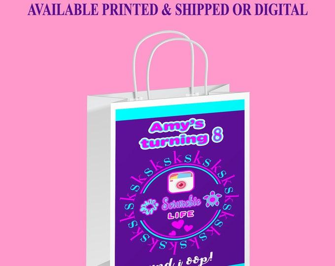 VSCO Gift Bag Label - VSCO Theme Party - VSCO Party Favor - Gift Bag Label - Digital - Party Printable