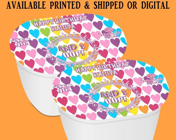 VSCO Stacked Chips - Potato Chip Snack Stack - VSCO Party Favors - VSCO Birthday - Snack Stacks - Digital - Party Printables