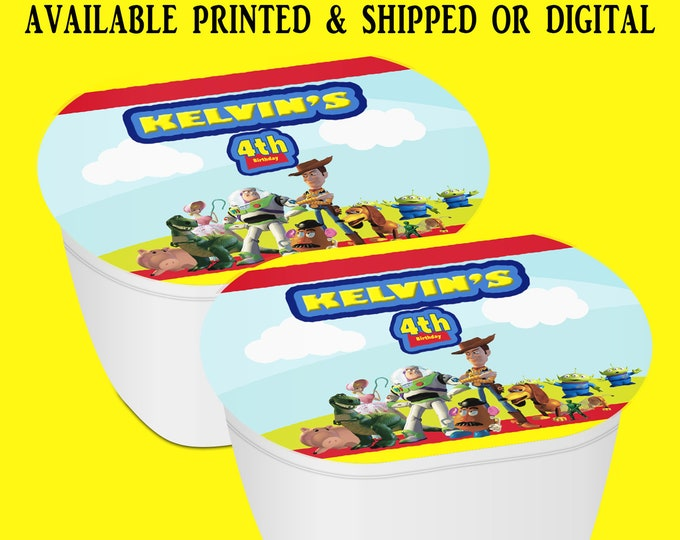 Toy Story Stacked Chips - Potato Chip Snack Stack - Party Favors - Toy Story Birthday - Snack Stacks - Digital - Party Printables
