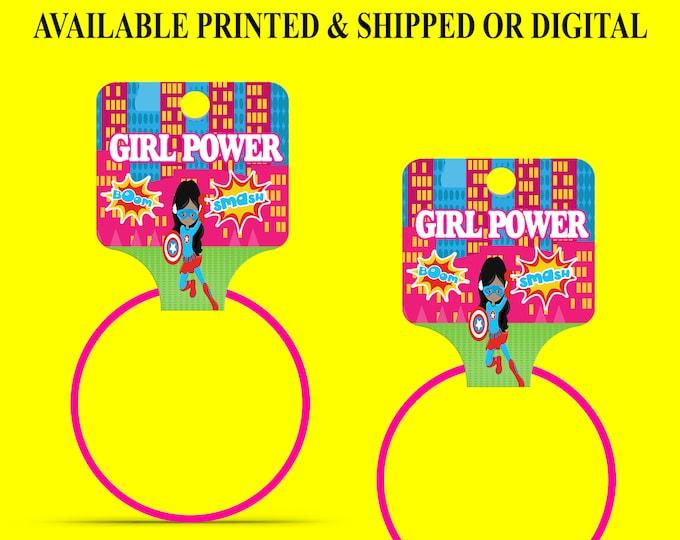 Superhero Bracelet Hang Tags - Bracelet Hang Tags - Custom Fold Over Tags - Hang Tags - ersonalized Tags - Digital - Printed