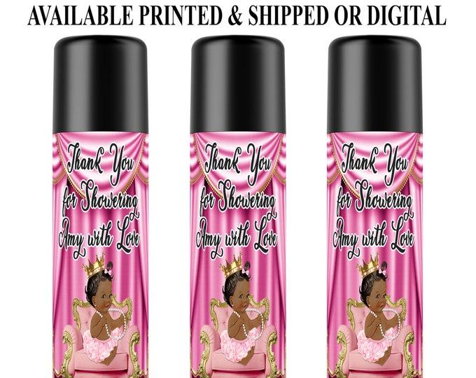 Baby Shower Lip Balm Labels - Custom Favor Labels - Baby Shower Favors - Party Favors - Digital File - Party Printables